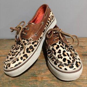 Leopard & Tan Sperry's✌️RESCUE
